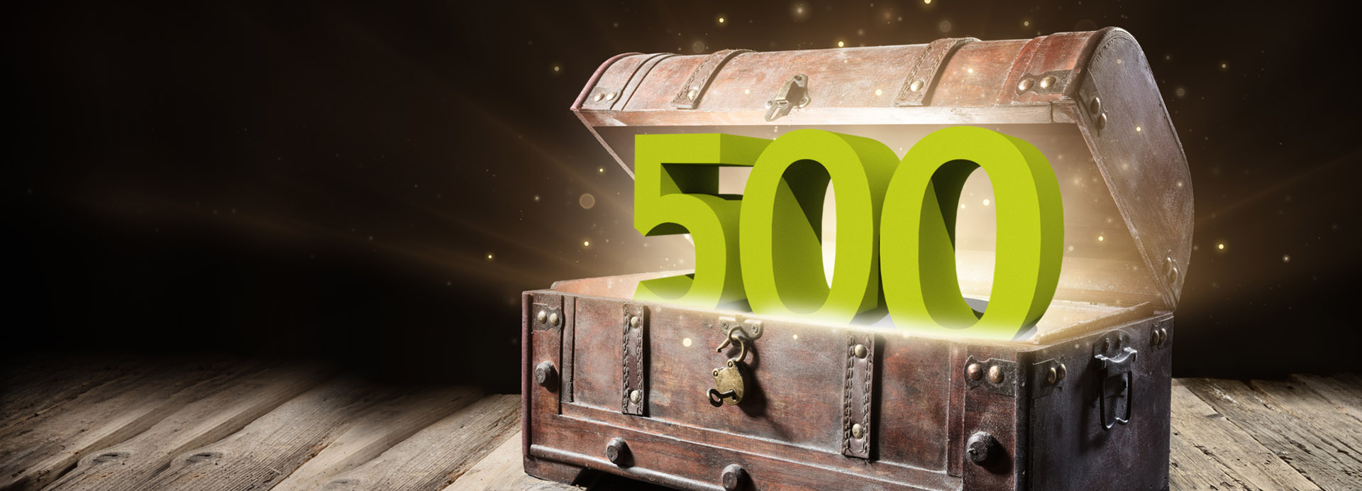 Jetzt 500 Extra-<br>Treuepunkte