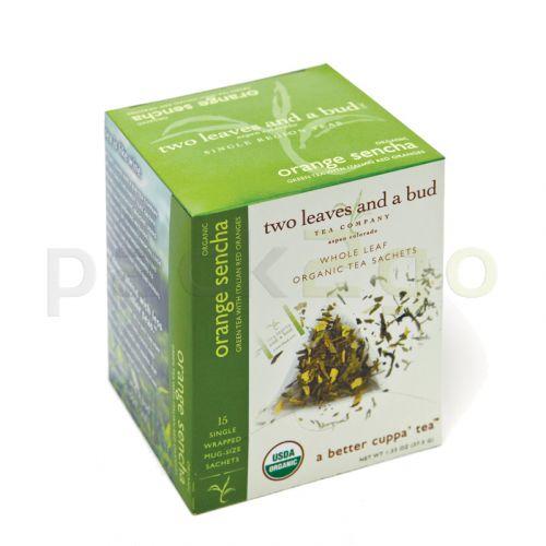 two leaves and a bud - Orange Sencha Bio Green Tea (Grüner Tee)