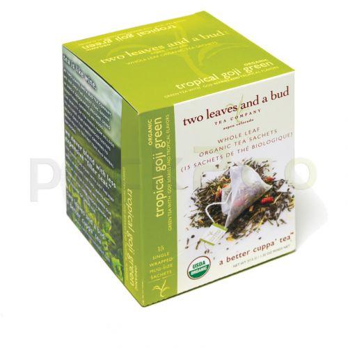 two leaves and a bud - Tropical Goji Bio Green Tea (Grüner Tee)