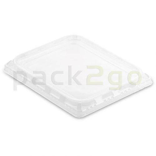 APET-Deckel zu 1/2 Gastronorm Schalen von Duni, transparent - 325x265mm # 160801