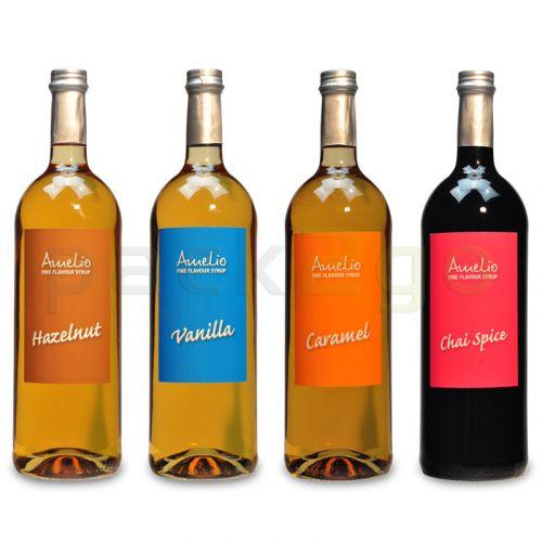4 Flaschen Amélio Flavour Sirup -