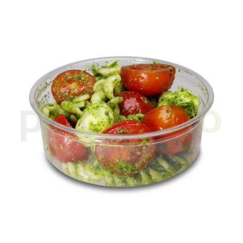Deli Gourmet Container, exklusiver, glasklarer US-Feinkostbecher - 8oz, 200ml