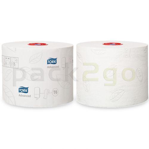 TORK Advanced Toilettenpapier T6 Midi Rolle 100m, 2-lagig