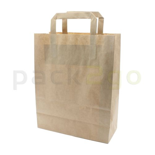 alle papieren draagtassen - kraft, milieuvriendelijk
