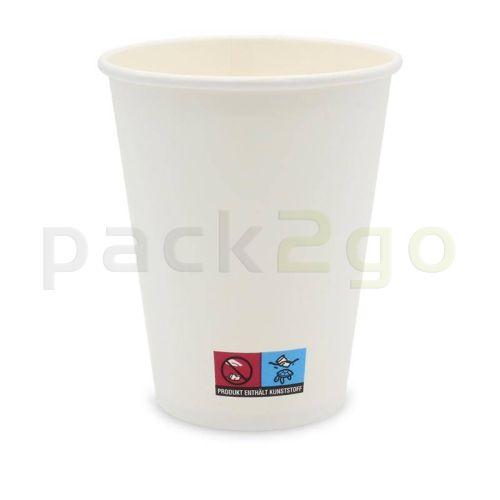 Kaffeebecher weiß 300ml