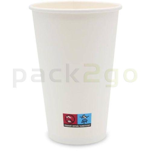 Kaffeebecher weiß 400ml