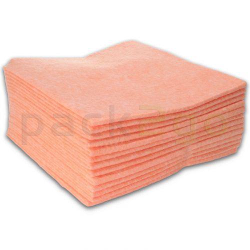 Allzwecktuch-Vlies, 38x38cm Vliestuch, Universal-Reinigungstuch - rosa (mit Farbcodierung)