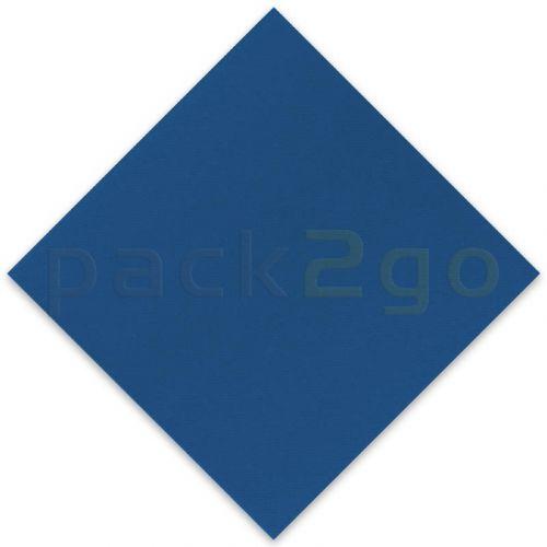 Vlies-Servietten Airlaid, Trendfarbe ROYALBLAU 40x40 1/4, Vliesstoff (stoffartig)