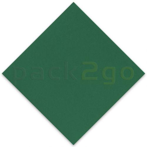 Vlies-Servietten Airlaid, Trendfarbe DUNKELGRÜN 40x40 1/4, Vliesstoff (stoffartig)