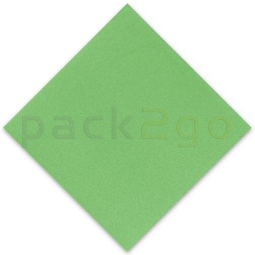 Vlies-Servietten Airlaid, Trendfarbe APFELGRÜN 40x40 1/4, Vliesstoff (stoffartig)