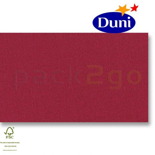 Duni Evolin-Mitteldecken 84x84cm - Bordeaux (Airlaid-Tischdecke, textiler Charakter) # 185172