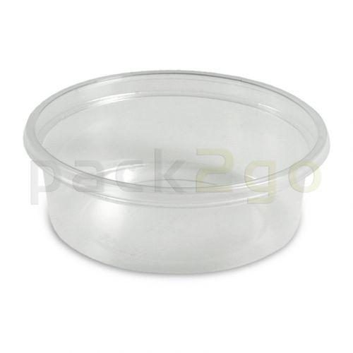 Dressingbecher, Verpackungsbecher PP, klar, rund Ø70mm - 50ml