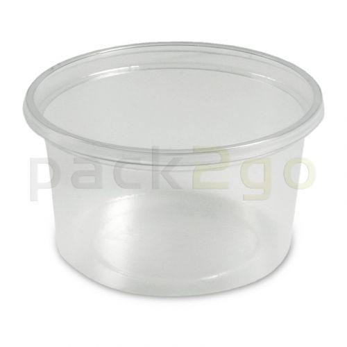 Dressingbecher, Verpackungsbecher PP, klar, rund Ø70mm - 80ml