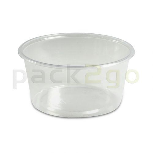 Feinkostbecher, Verpackungsbecher PS, rund, Ø 101mm - 250ml