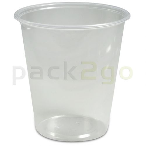 Delicatessenbeker, verpakkingsbeker PS, rond, Ø 101mm - 500ml