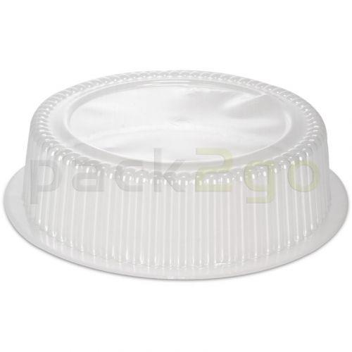 Dom-Deckel, rund, glasklar - für Alubehälter 185mm, C801L