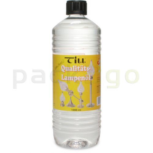 Lampenöl für Tischlampen, farblos - 12 Flaschen