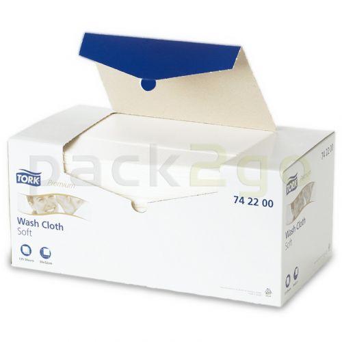 TORK Premium poetsdoek, airlaid poetsdoek zacht - wit Tork nr. 742200
