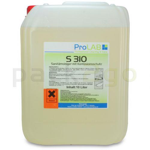 S-310 - Professioneller Sanitärgrundreiniger (ProLab), 10L Kanister