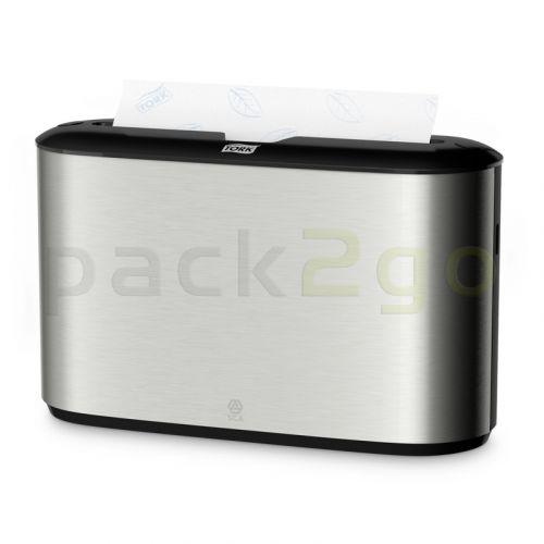 TORK Tischspender für Interfold-Papierhandtücher H2 Xpress - Edelstahl