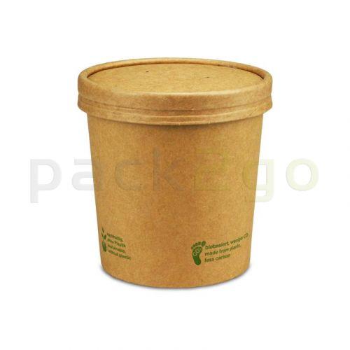 Kompostierbarer Soup To Go-Container