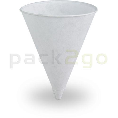 Spitzbecher / Papierkegel (Cones), weiß - 4,5oz (120ml)