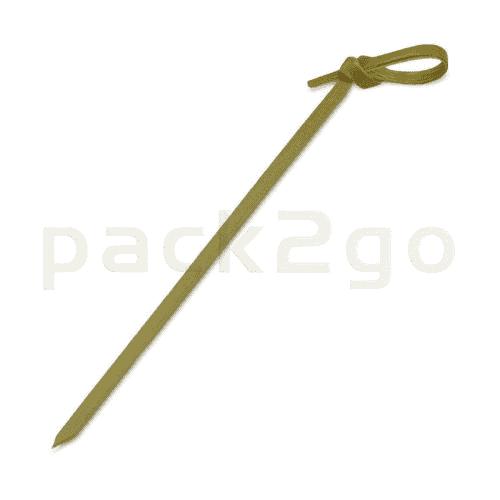 Knotenspieße aus Bambus, Partypicker für Fingerfood, 100mm