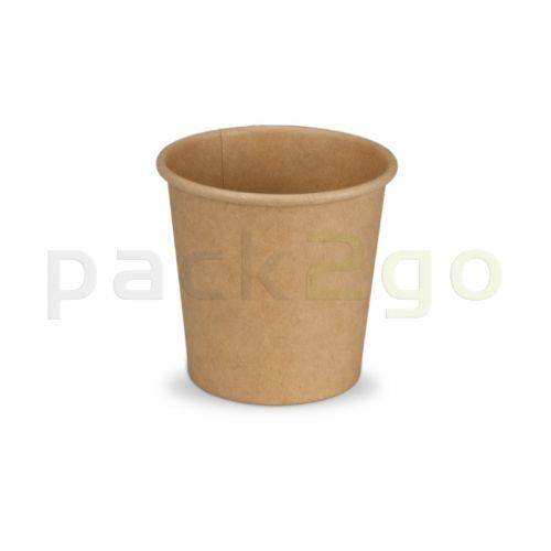 Espressobecher aus Recycling Kraftpapier, Coffee to go Becher, Kaffeebecher, braun - 4oz/100ml