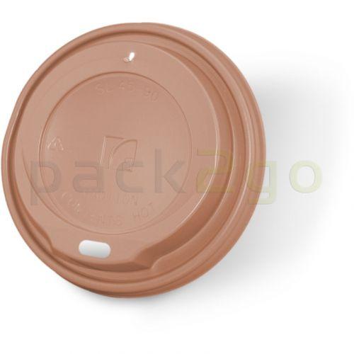 Coffee To Go Deckel für Kaffeebecher 0,2/0,25l, hellbraun -  8/10oz