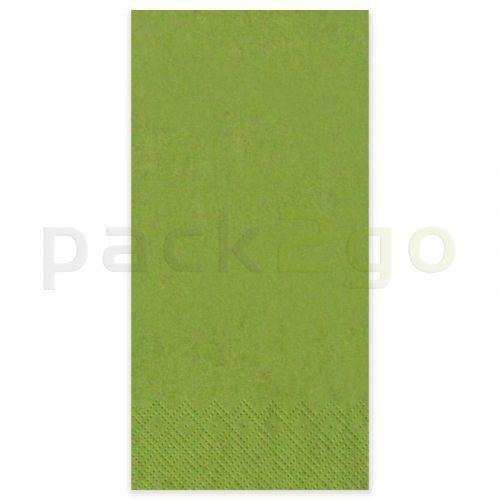 RESTPOSTEN - Tissue-Servietten GOURMET, 33x33 1/8 Falz, 2-lagig, Kopffalz - kiwi