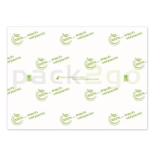 Frischhaltepapier Viertelbogen