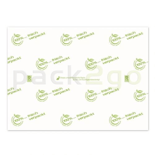 Frischhaltepapier Achtelbogen