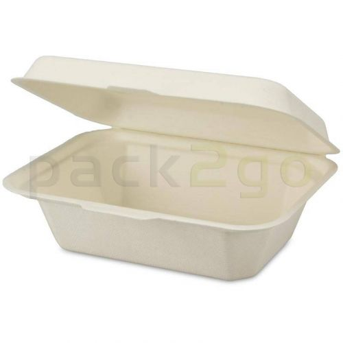 Snackbox Bagasse 18x13x7cm