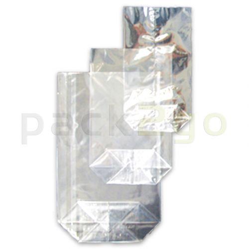 OPP-Bodenbeutel (Kreuzbodenbeutel) aus Polypropylen, 145x235mm