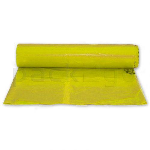 Müllsäcke LDPE 120l - 700x1100mm - stark T65 - gelb