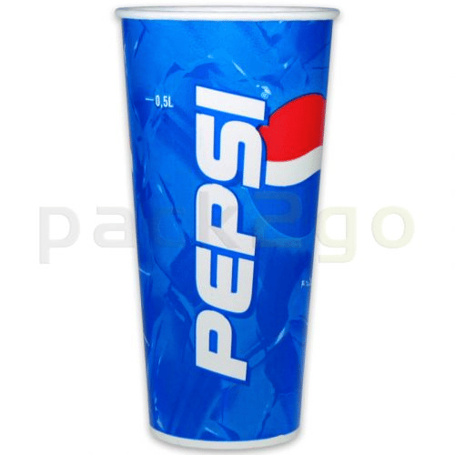 Kartonnen bekers ''Pepsi Cola'' bekers - 0,5l - Ø90mm