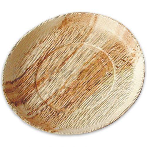 Partybord palmblad (composteerbaar palmblad servies) - barbecuebord Ø 24 cm rond