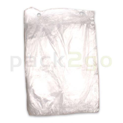 Poly-Flachbeutel LDPE, Gefrierbeutel transparent, T50 stark  - 30x40cm
