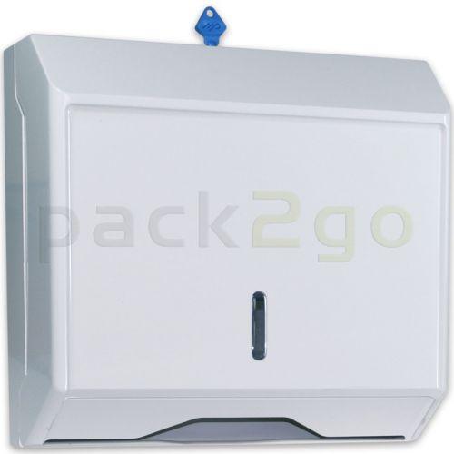 Spender für Papierhandtücher Zickzack, Z-Falz und C-Falz