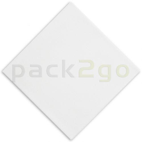 Gourmet Airlaid Vliesstoff-Servietten, Dinner-Servietten Premium 40x40 1/4Falz, weiss