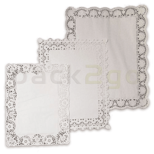 Tortenpapiere / Plattenpapier rechteckig - 40x20cm