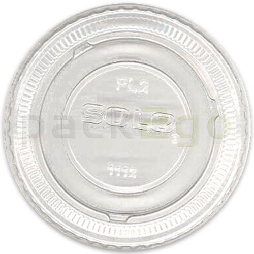 deksel glashelder, voor dressingbekers 60ml/75ml - Ø 62 mm