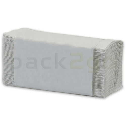 Papierhandtücher 2-lagig Zickzack hochweiß