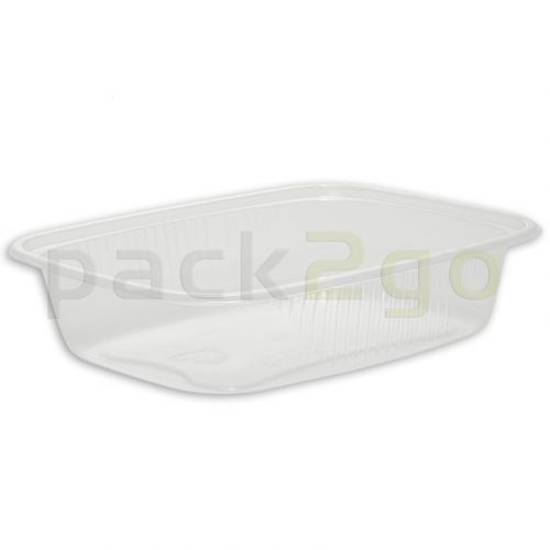 Feinkostbecher, Verpackungsbecher, PP, transparent, eckig - 125ml