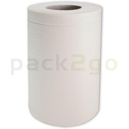 Handdoekrollen 2-lg mini helder wit (M1-systeem)