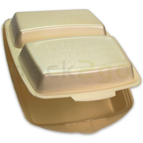 Menüboxen / Dinnerboxen, geschäumt - Premium, 2-geteilt