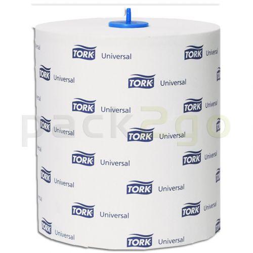 TORK handdoekrol Universal 1-laags, hoogwit, TAD, 280 m rol 290059 voor H1-systeem TorkMatic-dispenser