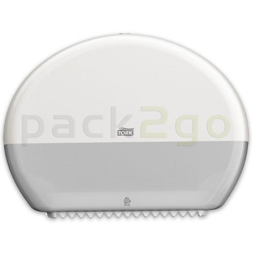 TORK-Toilettenpapier-Spender Mini-Jumborolle T2 Elevation weiß (Toipa-Spender)