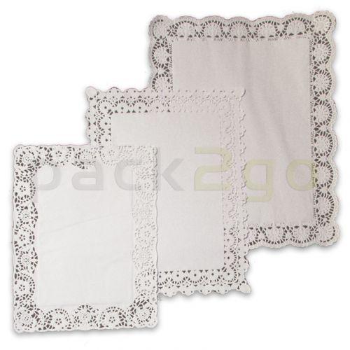 Tortenpapiere / Plattenpapier rechteckig - 34x26cm