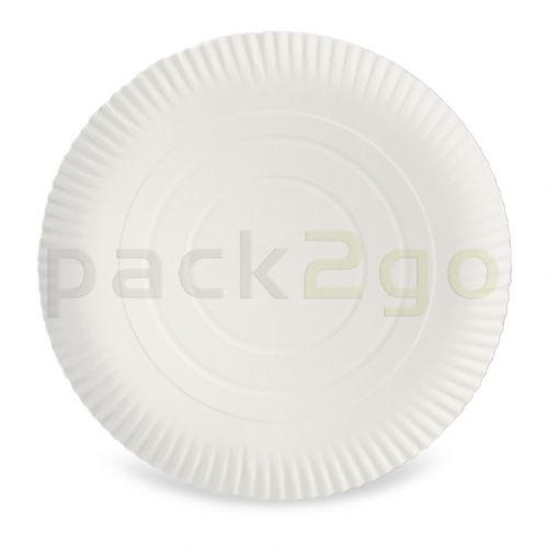 Kartonnen borden rond Ø 26 cm groot, 2 cm hoog, niet-gecoat, pizzabord